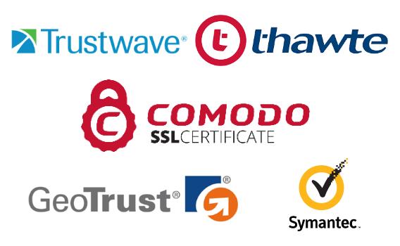 SSL certificate brands