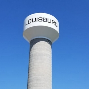 Louisburg, KS Water Tower