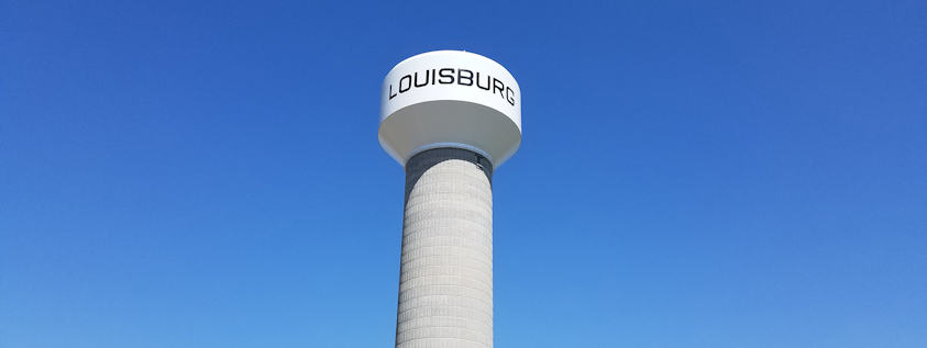 Louisburg, KS Water Tower
