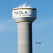 Paola Kansas Water Tower